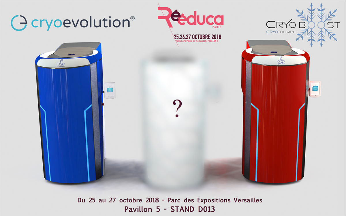 Cryo Evolution® au salon Rééduca 2018